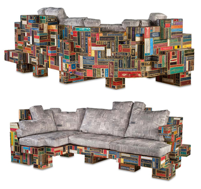 Brc Designs Creates Furniture From Books Upcyclist