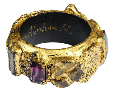 Jewellery made from Thames River treasure by Alexandra Abraham