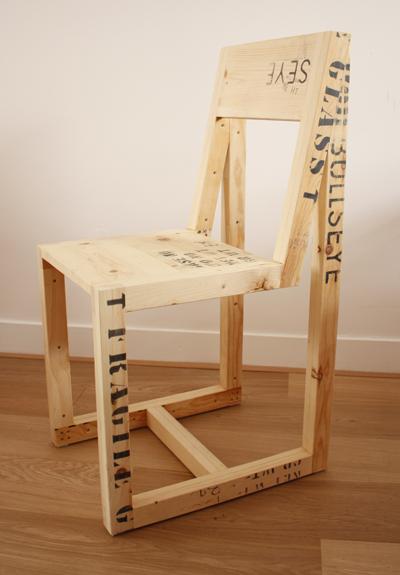 Shipping Crate Furniture By Boudewijn Van Den Bosch Upcyclist